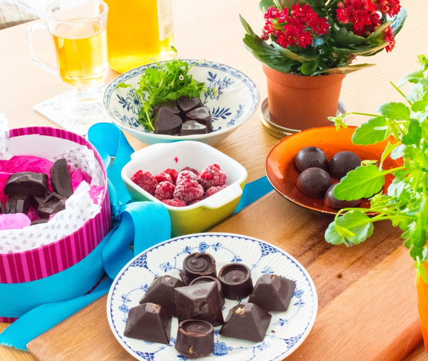 Dairy-Free, Raw Chocolates!