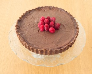 Raw Chocolate and Hazelnut Torte