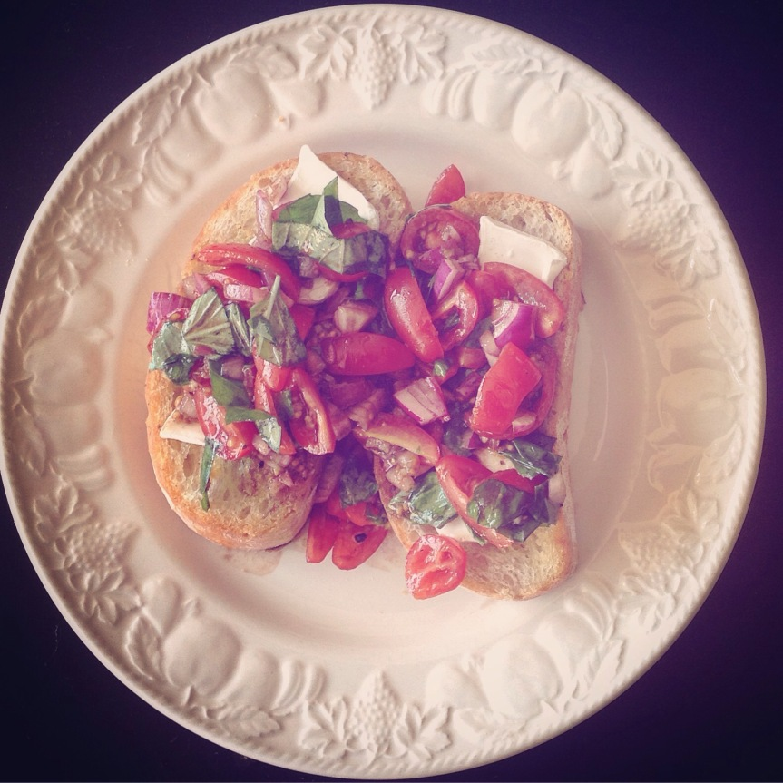 Simple Italian Bruschetta