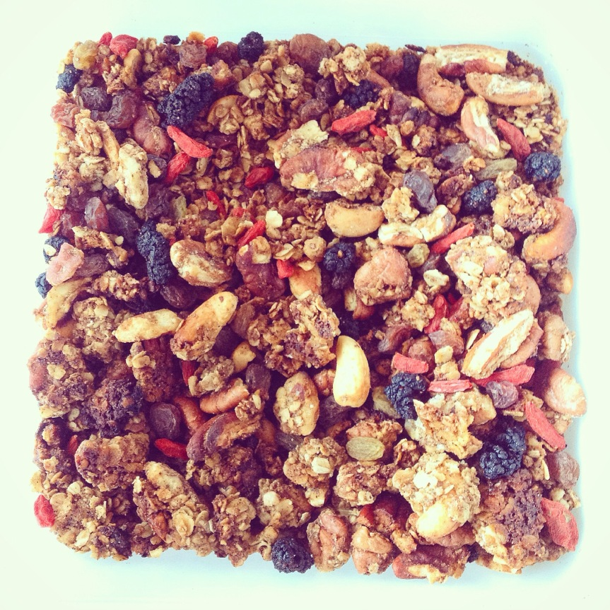 Cashew, Pecan & MulberryGranola