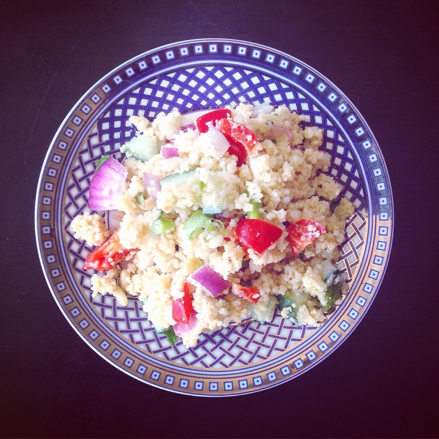 Speedy Summer Couscous Salad