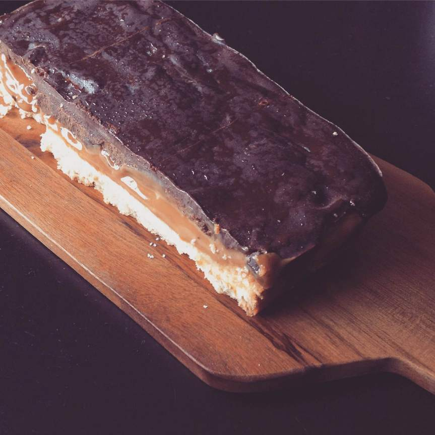 Raw Chocolate CaramelSlices