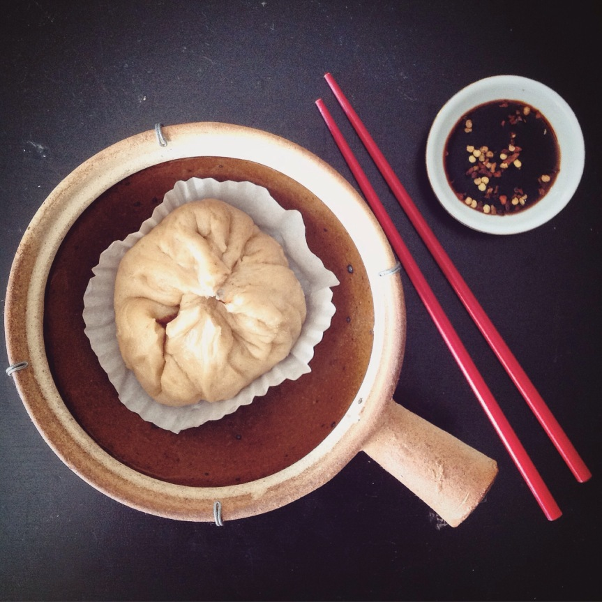 Steamed Seitan & MushroomBao