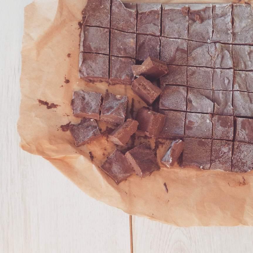 Chocolate and Peanut ButterFudge